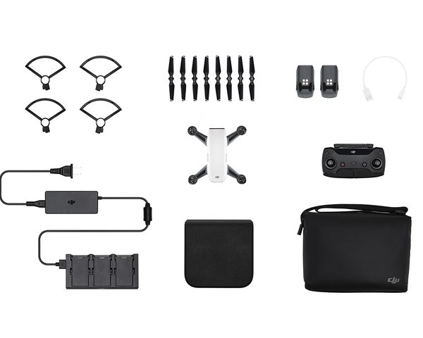 DJI Spark Fly More Combo Alpine White from UAVs World