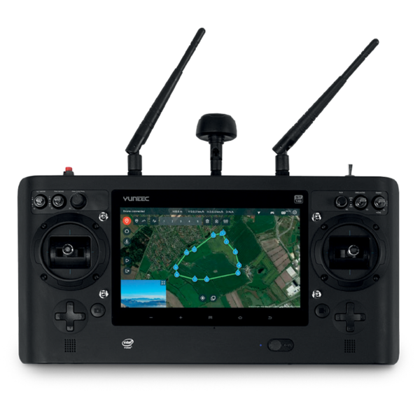 Yuneec H520 controller from UAVs World 06