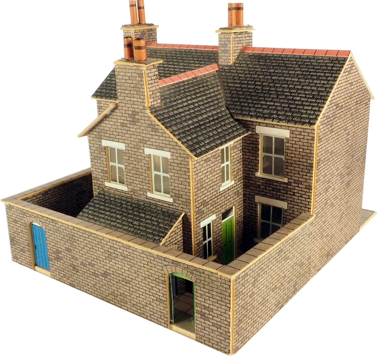 PN104 N Scale Terrace Houses in Stone | themodeltraincentre on n scale construction, scale model house plans, n scale furniture, n scale tools, 1/24 scale house plans, n scale wallpaper, n scale design, g scale house plans, n scale concrete, n scale garden, n scale landscape, n scale blueprints, n scale architect, post-war house plans, vintage house plans, n scale building materials, n scale signs, paper model house plans, n scale lighting, n scale magazines,