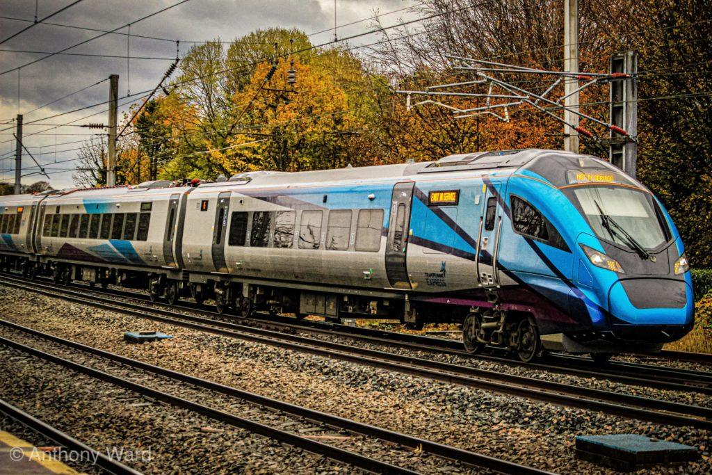 397001 looking very striking arriving at Lancaster